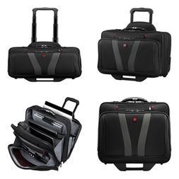 """Luggage Granada Pro 15.6"""" Wheeled Laptop Case Bag BLACK One"""