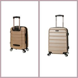 Rockland Luggage Melbourne 20in Expandable Carry On Spinner