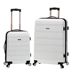 2 PC ROCKLAND LUGGAGE MELBOURNE 20 INCH &28 INCH EXPANDABLE