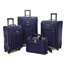 American Tourister Luggage Pop Extra Spinner - 4 Piece Set