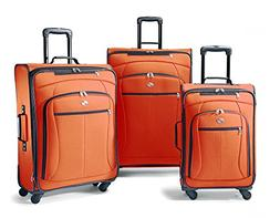 NEW American Tourister Luggage AT Pop 3 Piece Spinner Set On