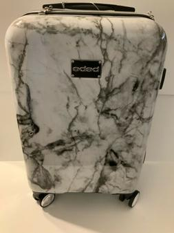 """Bebe Luggage Reyna Collection 21"""" Marble Surface Trolley H"""