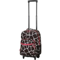 """Rockland Luggage 17"""" Rolling Backpack"""