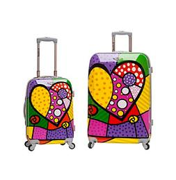 Rockland 2 PC LUGGAGE SET - F212-HEART