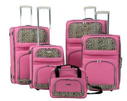 ROCKLAND 5PC LUGGAGE SET