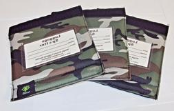 Luggage Spotter Suitcase Handle Wrap ID Tags ~ Green Camo Pa