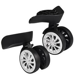 Zerone Luggage Suitcase Wheels,Swivel Wheel Replacement Lugg
