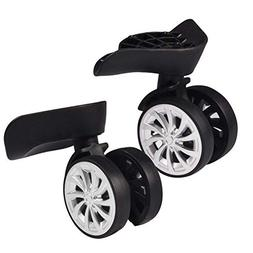 Luggage Suitcase Wheels, Swivel Wheel Inline Outdoor Skate R