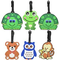 Luggage Tags for Kids Men Womens Travel Suitcase Duffel  Cut