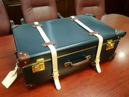 Steamline Luggage | The Architect | Navy Large Check In Spin