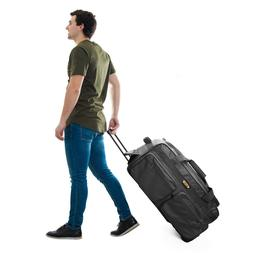 """Luggage  Travel 29"""" 50Lb Rolling Wheeled Duffle Bag Carry On"""