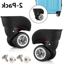 TuhooMall Luggage Universal Wheel, 360 Degree Swivel Caster