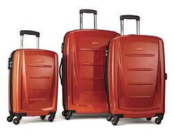 Samsonite Luggage Winfield 2 Fashion HS 3 Piece Set, Orange,