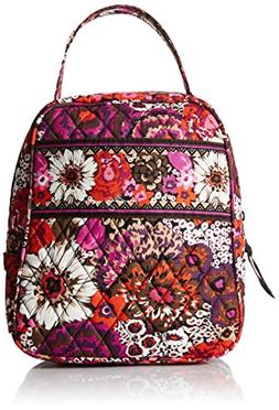 VERA BRADLEY LUNCH BUNCH BAG  INSULATED & WASHABLE - ROSEWOO