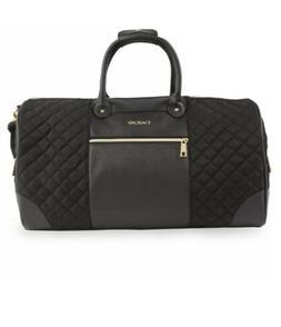 BEBE Mandy Weekend Travel Bag - Black Travel Duffel NEW