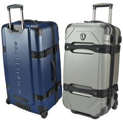 """Maxporter 24"""" Polycarbonate Hardside Trunk Hardcase Luggage"""