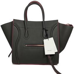 CELINE Medium Luggage Phantom Bag in Supple Calfskin - Pebbl