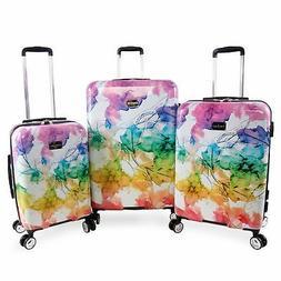 Bebe Megan 3-pc Hardside Spinner Luggage Set