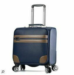 Men Travel Luggage Business Spinner Rolling On Wheels Carry