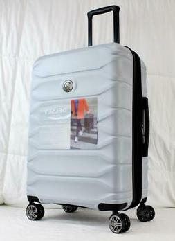 """DELSEY METEOR 25"""" EXPANDABLE HARDSIDE SPINNER SUITCASE LIGHT"""