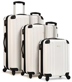 TravelCross Milano Luggage Expandable Lightweight Spinner Se