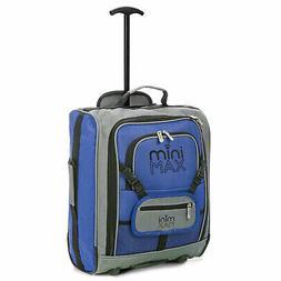Aerolite MiniMAX Childrens Kids Travel Rolling Luggage Backp