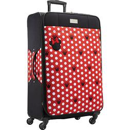 "American Tourister Minnie Dots 28"" Checked Spinner Luggage"