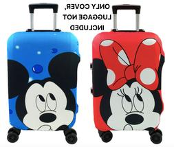 Minnie Mickey Travel Case Protective Cover Luggage Suitcase