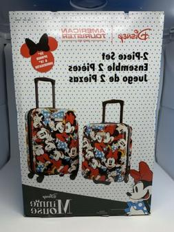 "Disney Minnie Mouse American Tourist 2-Piece Set 20"" Spinner"