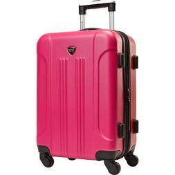 """Travelers Club Luggage Modern 20"""" Hardside Expandable Hardsi"""