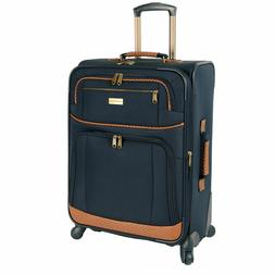 "Tommy Bahama MOJITO Navy Blue 28"" Expandable Canvas Spinner"