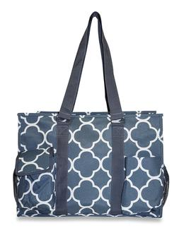 Moroccan Womens Utility Large Canvas Tote Bag for Travel Sho