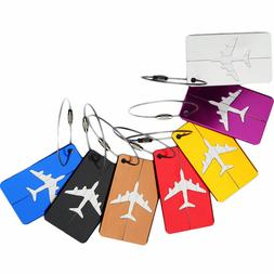 Multi Color Luggage Tag Airplane New Free Tracking Travel Id