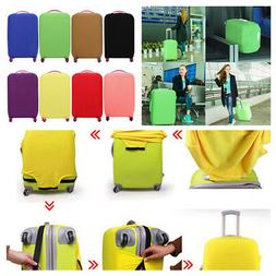 Multicolor Elastic Anti Dust Scratch Travel Luggage Protecto