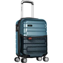 "Olympia USA Nema 18"" Under the Seat Carry-On Spinner"