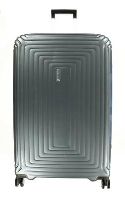 "SAMSONITE NEOPULSE 28"" Metallic Silver Spinner Suitcase Lugg"