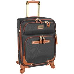 "NEW Steve Madden 20"" Carry-On Softside Expandable Luggage Wi"