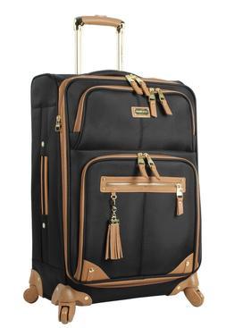 """NEW Steve Madden Luggage 24"""" Expandable Softside Suitcase Wi"""