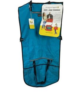 *NEW* Biaggi Hangeroo Garment Bag and Tote Aqua Blue/black