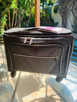 NEW BIAGGI LUGGAGE LIFT OFF EXPANDABLE CARRY-ON UNDER-SEATER