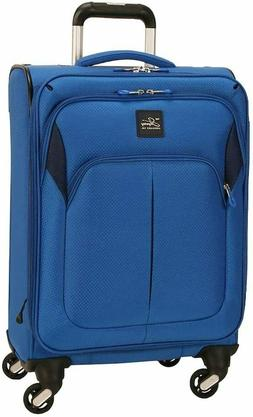 -NEW-Skyway Oasis 2.0 Softside Spinner Luggage 28 INCH Blue