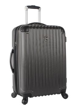 New Lucas Outlander Luggage Hard Case 24 inch Expandable Rol