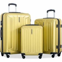 New PET material Flieks 3 Piece Luggage Set Eco-friendly Spi