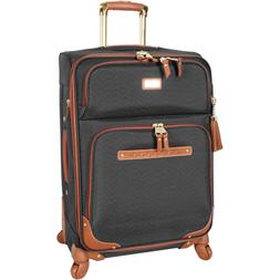 """NEW Steve Madden 24"""" Softside Expandable Luggage With Spinne"""