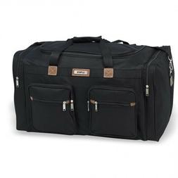"""New Hi-Pack Travel Duffle Bag 18"""" 22"""" 25"""" 28"""" Luggage Black"""