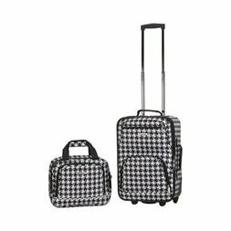 NIB Rockland Luggage Rio SoftSide 2-Piece Carry-On Luggage S