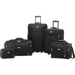Samsonite Nobscot 5 Piece Luggage Set - Black