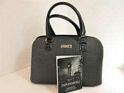NWT London Fog Luggage GRAY TEXTURED CHATHAM 360 COLLECTION