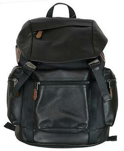 NWT Men's Coach Perforated Leather Trek Pack Backpack Book B