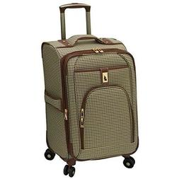 London Fog® Olive Houndstooth Cambridge 360 Ultra Light
